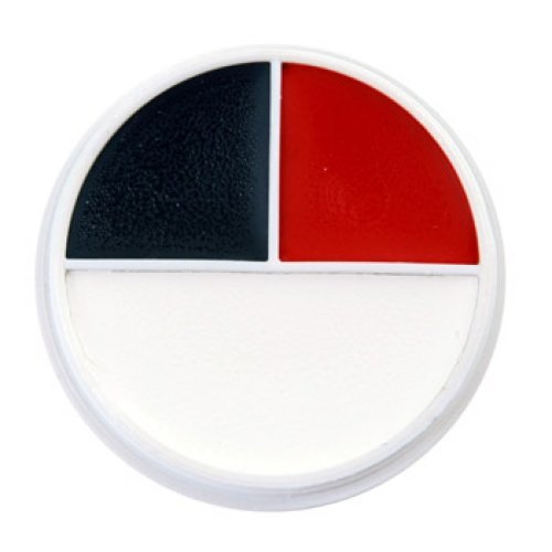 Ben Nye Color Wheel Red Black and White (2 available sizes) (Character Wheel WK-51 (5K1 .5oz))