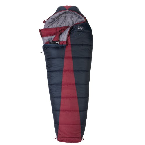 Slumberjack Latitude 0 Degree Synthetic Sleeping Bag, Regular, Outdoor Stuffs