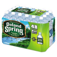 (Poland Springs Original Water, 8 Ounce - 48 per case.)