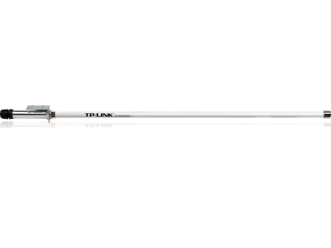 TP-Link 2.4GHz 12dBi Outdoor Omni-directional Antenna, N Female (TL-ANT2412D)