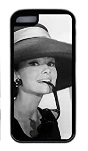 CSKFUAudrey Hepburn Black Case for iphone 6 5.5 plus iphone 6 5.5 plus , iphone 6 5.5 plus iphone 6 5.5 plus Case TPU black by vipcustomonline