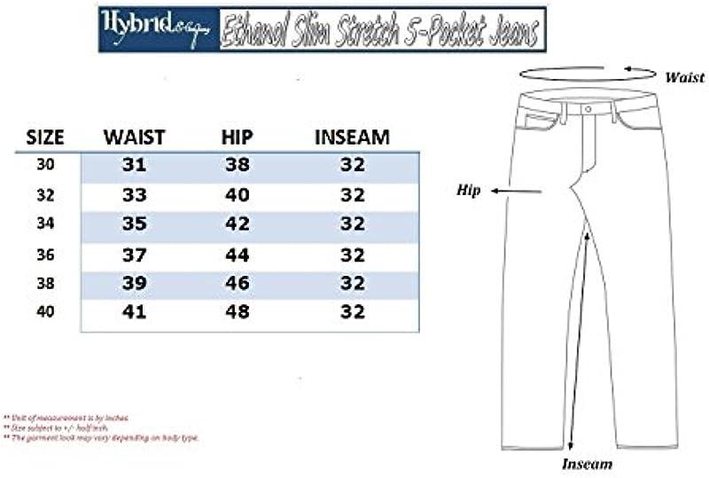 ETHANOL dżinsy męskie, smukłe, rozciągliwe: Odzież