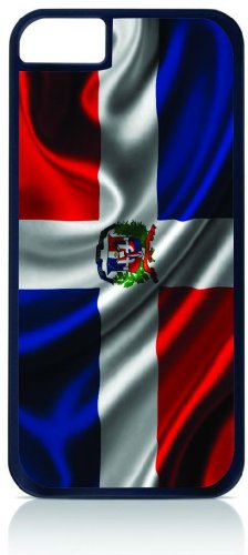 dominican-republic-flag-iphone-6-black-plastic-case-compatible-with-iphone-6-only