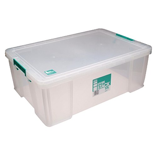 STORESTACK RB11089 Box, 51 L, Width 660 mm x Diameter 440 mm x Height 230 mm