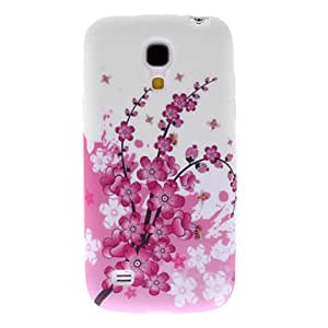 Pink Peach Blossom Pattern Hard Case for Samsung Galaxy S4 Mini I9190