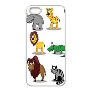 Animal Cartoon Unique Design Case for Iphone 5,5S, New Fashion Animal Cartoon Case