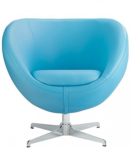 Awe Inspiring Costantino Bali Swivel Chair Blue Creativecarmelina Interior Chair Design Creativecarmelinacom