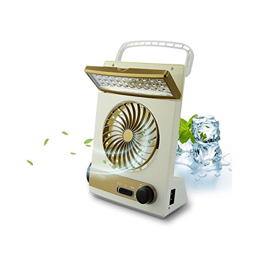 Mini Solar Rechargeable Fan Multi-function LED Light Table Lamp Flashlight (Outdoor Ceiling Fans Sydney)
