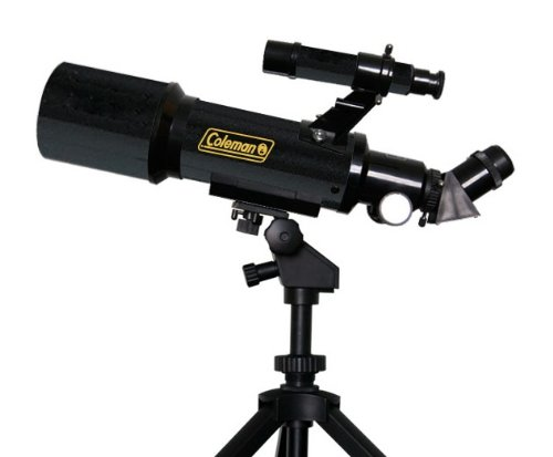 Coleman AT70 AstroWatch Portable 70mm Refractor Telescope with Portable Tripod & Carrying Case by Coleman