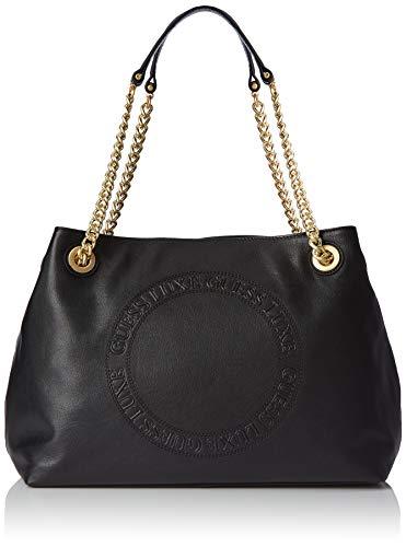 Mujer Negro Shoppers Hombro Solange Y Hobo Guess De black Bolsos aRw01g8qx
