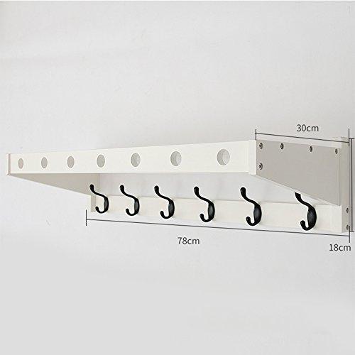 Amazon.com: Tingting - Perchero de pared con ganchos para ...