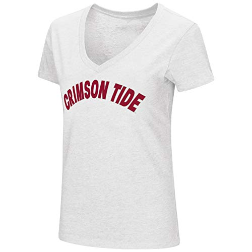 Colosseum-Womens-NCAA-Valuable-Commodity-Dual-Blend-V-Neck-Slim-Fit-T-Shirt