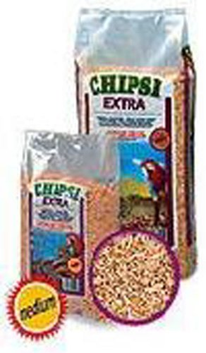Chipsi Extra Beechwood Wood Chip MEDIUM (6mm) 70 LITRE / 15kg (TP)(CHIPM15/JRS315) Pet-Bliss