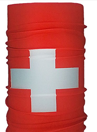 Seamless Multifunctional Unisex World Cup of Soccer SWITZERLAND