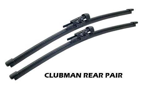 Mini Cooper Streak libre trasero Limpiaparabrisas par Factory de repuesto OEM para Clubman: Amazon.es: Coche y moto