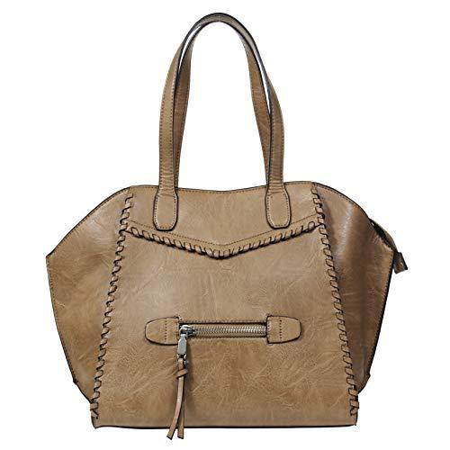 - BCBG Fashion ToteHandbag For Women; Designer Lightweight Leather Satchel by BCBGGeneration
