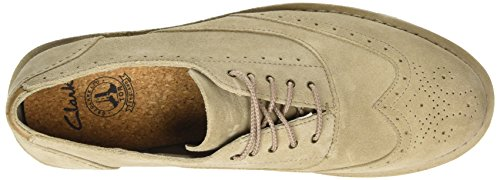 ClarksDarble Limit - Zapatos de Vestir hombre Beige (Sand Suede)