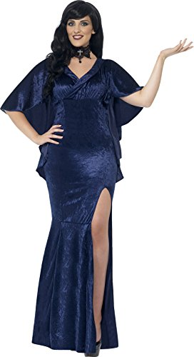 Seductive Sorceress Sexy Costumes (Smiffy's Women's Sorceress Costume, Dress, Legends of Evil, Halloween, Plus Size 18-20, 44339)