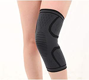 Breathable Basketball Football Sport Safety Kneepad Volleyball Knee Pads Training Elastic Knee Support Knee Protect -size M