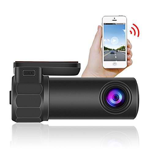 Ruidon Wifi Dash Cam 1080P HD Dashboard Camera,Vehicle Video Driving Recorder 360