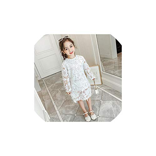 Girl Costume for Girls Princess Lace Wedding Kids