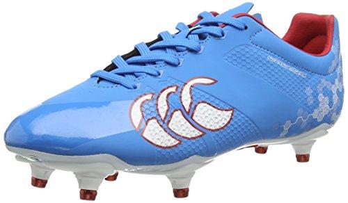Canterbury Speed Elite 6 Stud - Zapatillas de rugby de sintético para hombre azul - Blue (A60)