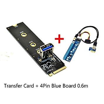 Amazon.com: XT-XINTE M.2 NGFF a PCI-E x16 Slot tarjeta de ...