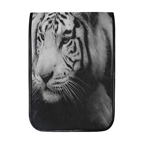 Ipad Pro 12-12.9 inch Sleeve Case Bag for Surface Pro Black Animal Tiger Mac Protective Carrying Cover Handbag for 11