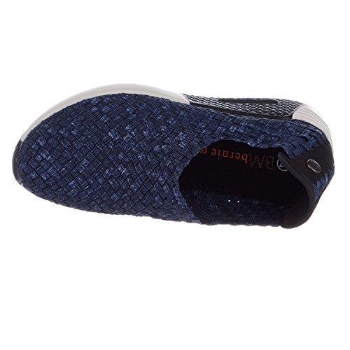Bernie Mev Donne Migliori Jeans Di Moda Gioiello Scarpa Da Tennis