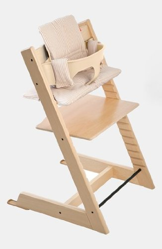 Infant Stokke 'Tripp Trapp' Chair, Baby Set, Cushion & Tray