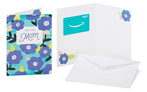 Amazon.com Gift Card in a Greeting Card (Floral Mom Design)