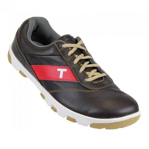 2013 True Linkswear True Proto Golf Shoes - Brown/Sand - Mens (8) ()