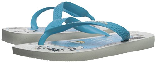 Pictures of Havaianas Kid's Top Play Sandal (Toddler/ White 4