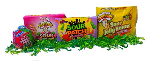 Sour Easter Candy Bundle: Easter Basket Filler of Popular Sour Candy for Easter