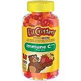 L'il Critters Immune C Plus Zinc Gummy Vitamins, Naturally Sourced Colours & Flavours, 190 Count