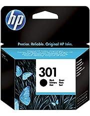 HP 301 CH561EE Cartuccia Originale per Stampanti a Getto di Inchiostro, Compatibile con DeskJet 1050, 2540 e 3050, HP OfficeJet 2620 e 4630, HP ENVY 4500 e 5530, Nero