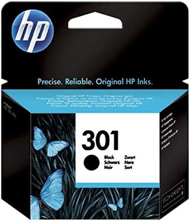 HP 301 CH561EE, Cartucho Original de Tinta Negro, compatible con impresoras de inyección de tinta HP DeskJet 1050, 2540,3050; OfficeJet 2620, 4630; ENVY 4500, 5530: Hp: Amazon.es: Oficina y papelería