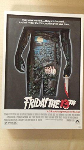 McFarlane Toys 3D Movie Poster - Friday The 13th