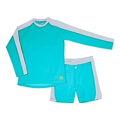 Nozone Laguna Sun Protective 2-Piece Boy's Swimsuit - UPF 50+