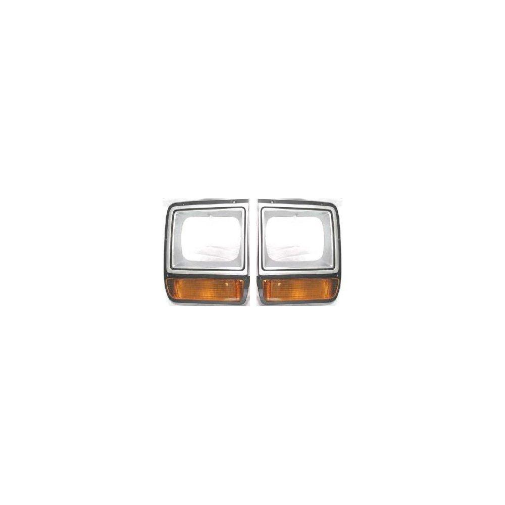 Evan-Fischer EVA18972055268 Headlight Door for Dodge Full Size Pickup 86-90 RH and LH Included W/Single Headlamp Painted