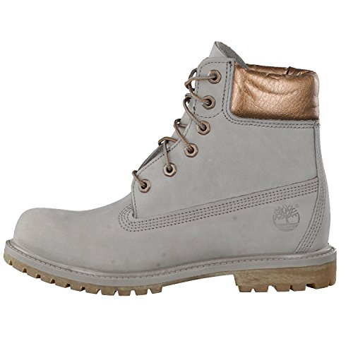 Timberland 6in Premium Boot - W STEEPLE GREY, WOMAN, Size: 37 EU (6 US / 4 UK)
