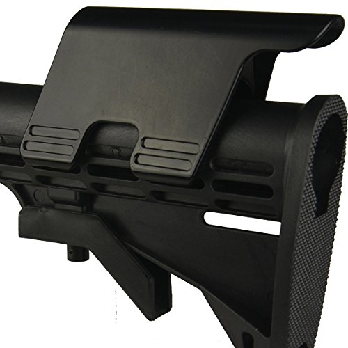 Cheek Rest for AR15 Buttstock High by GRG MFG