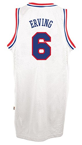 (Julius Erving Philadelphia 76ers White NBA Soul Swingman Jersey (Small))