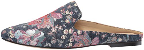 The Fix Women's Dalyah Closed Toe Slide Loafer, Floral Pastel Denim Jacquard Textile, 9.5 B US by The Fix (Image #5)