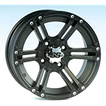 "ITP SS ALLOY SS212 Matte Black Wheel with Machined Finish (14x6""/4x156mm)"