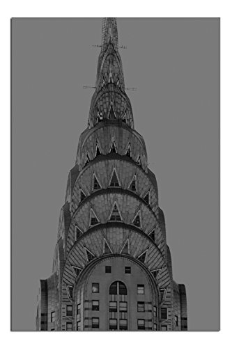 Jp London Solvent Free Poster Art Print Ready to Frame Chrysler Building New York