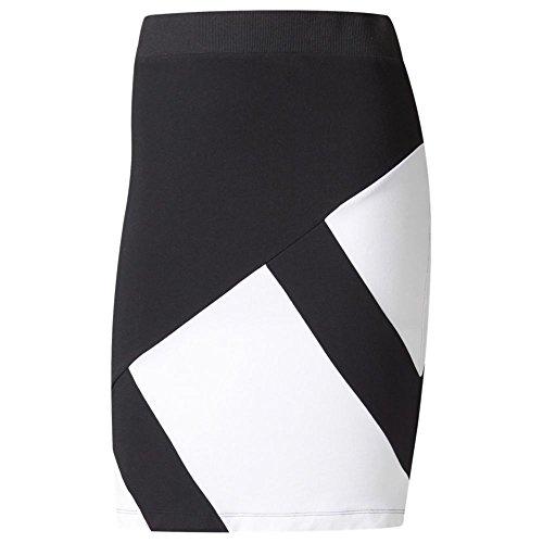 adidas Originals Women's Bottoms EQT Skirt, Black/White, Small by adidas Originals