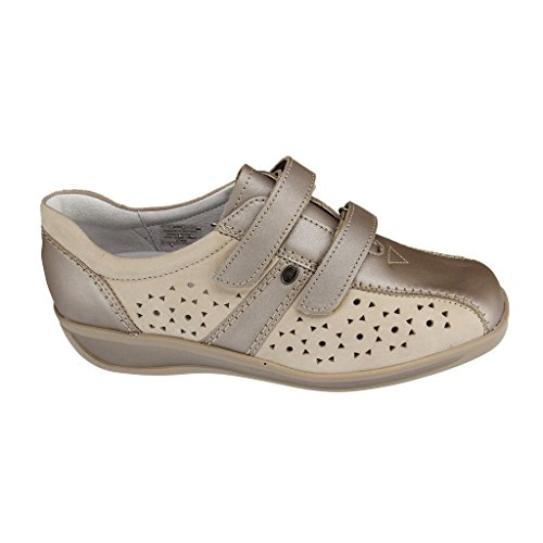 ara Women's Meran Pu 1236387Comfort Extra Extra Wide Slippers Shoes Various Shelves Taupe 53cCYw4k9