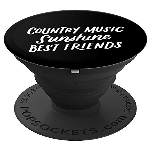 Country Music Sunshine Best Friends, Festival Accessories - PopSockets Grip and Stand for Phones and Tablets