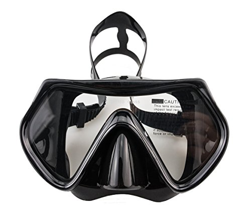 WACOOL Snorkeling Package Set for Adults, Anti-Fog Coated Glass Diving Mask,...